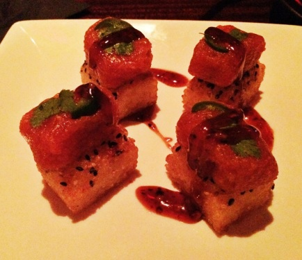 Crispy Spicy Tuna