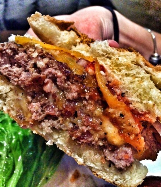 Stuffed Smokehouse Burger