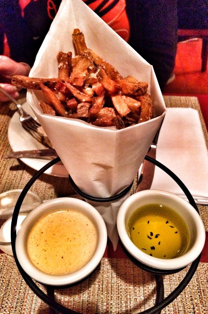 Parmesan Herb Fries