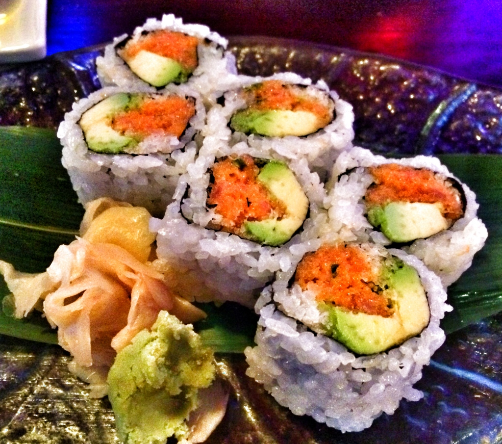Spicy Tuna Roll with Avocado