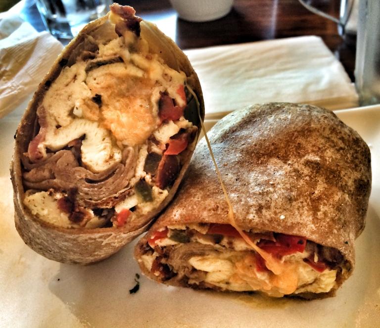 Steak Fajita Breakfast Burrito