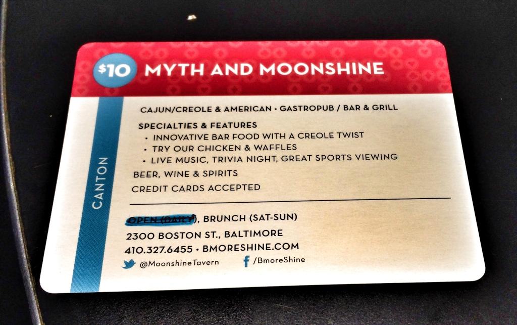 City Dining Card