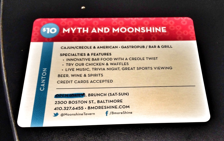 City Dining Card