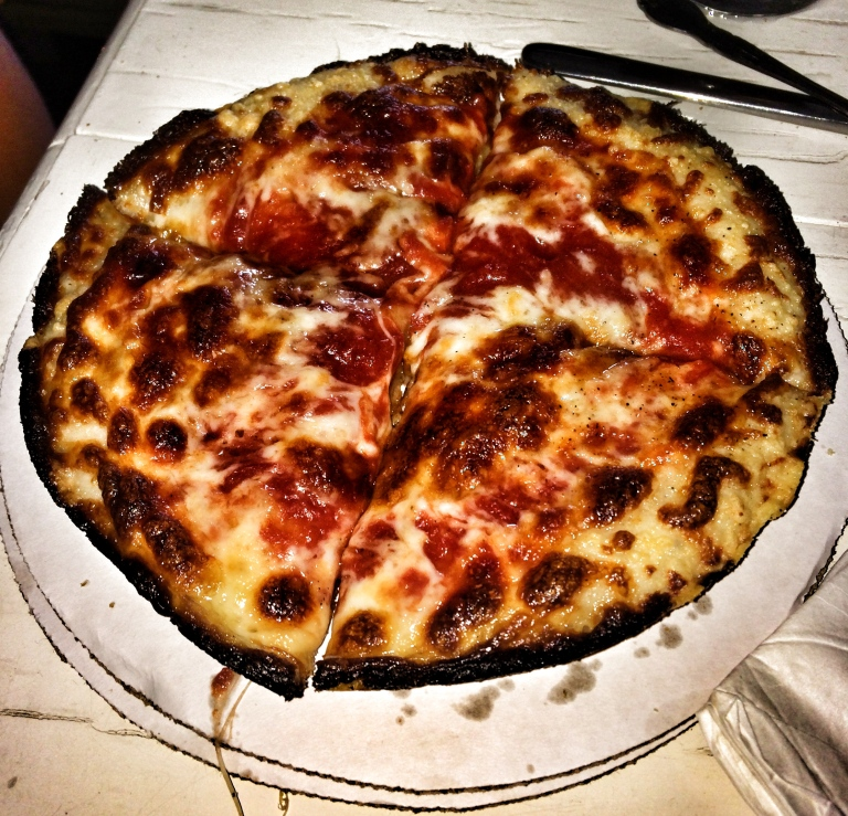 Our House BOTH Cheese Pizza
