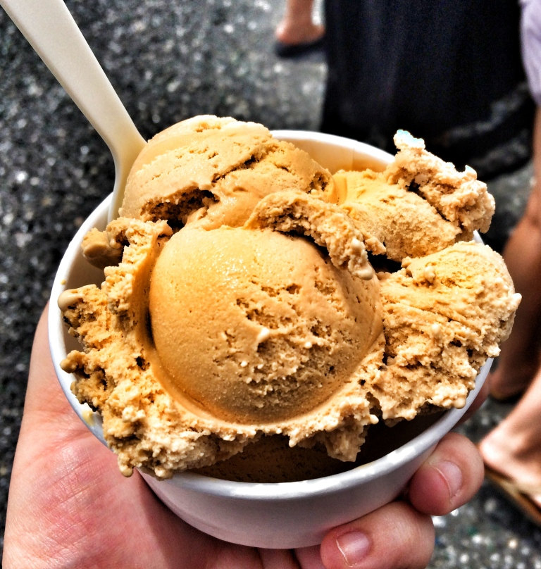 Salted Cappuccino Ice Cream