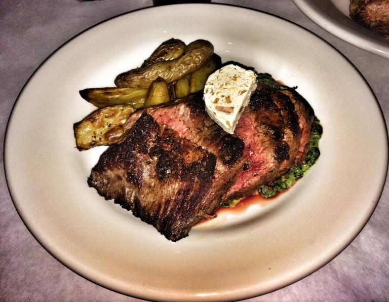 Dry Rubbed Bavette Steak