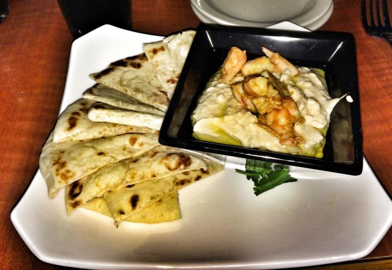 Spicy Shrimp Hummus