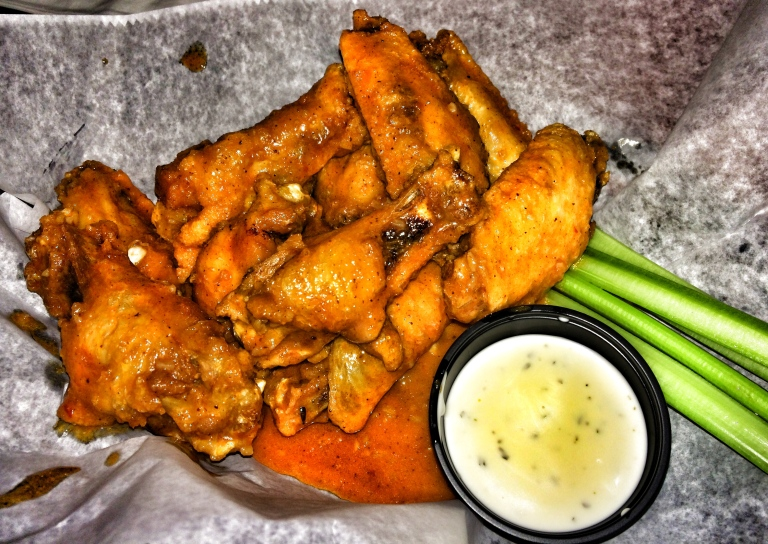 Wings with Mild Shotti Sauce
