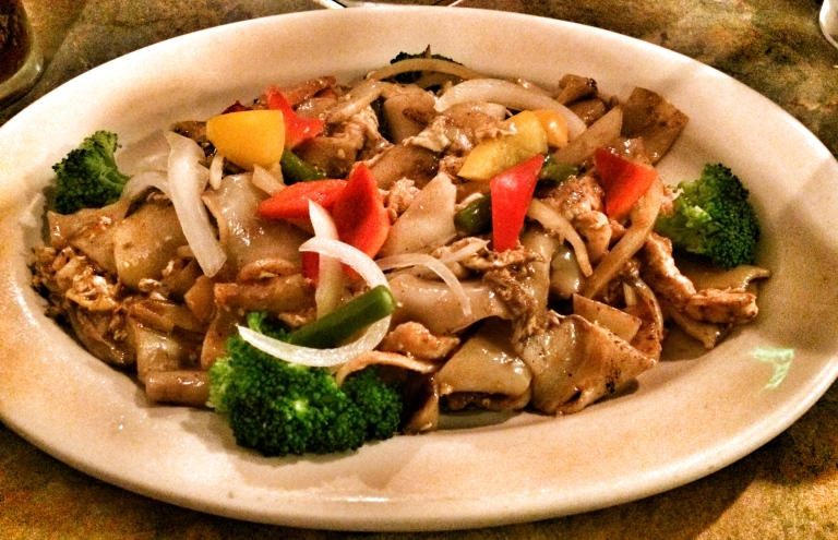 Chicken Pad See-Ew