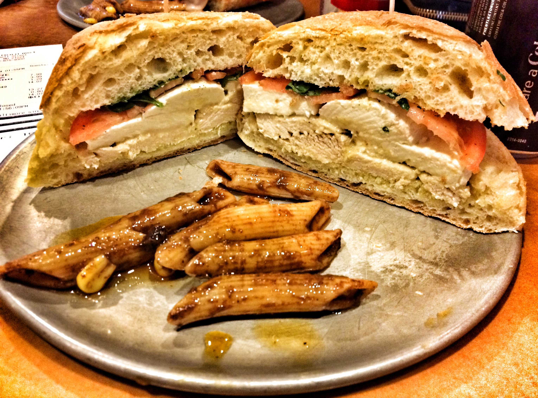 Delicious Italian Sandwiches at Rosina Gourmet | Like the TEA Eats