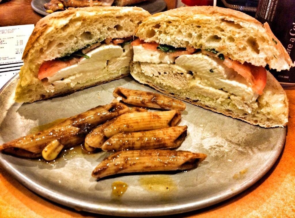 Fresh Mozzarella Sandwich