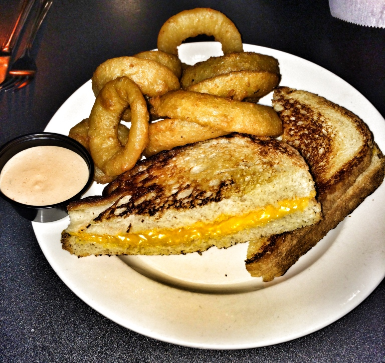 Grilled Cheese and Saturn Rings