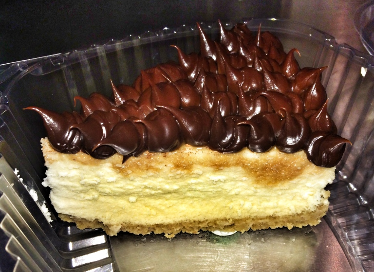 Chocolate Top Cheesecake