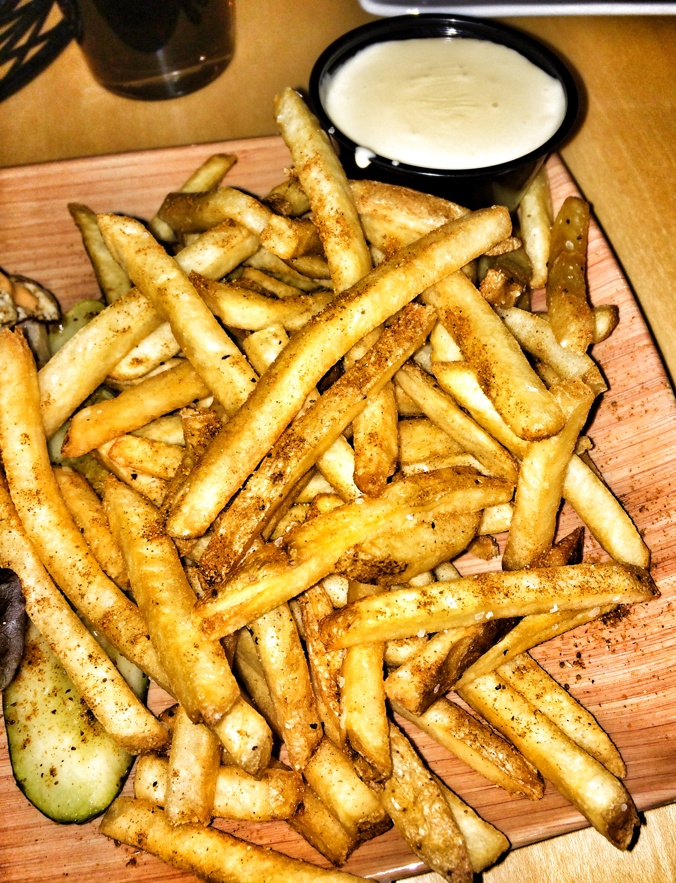 Old Bay Fries Recipe — Dishmaps