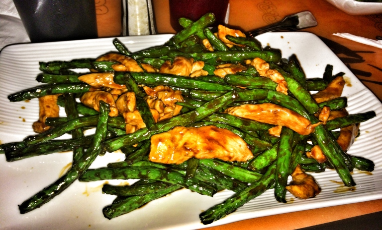 Chicken and Stringbeans