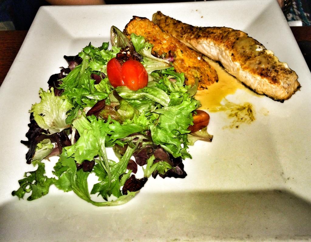 Coconut Curry Glazed Salmon