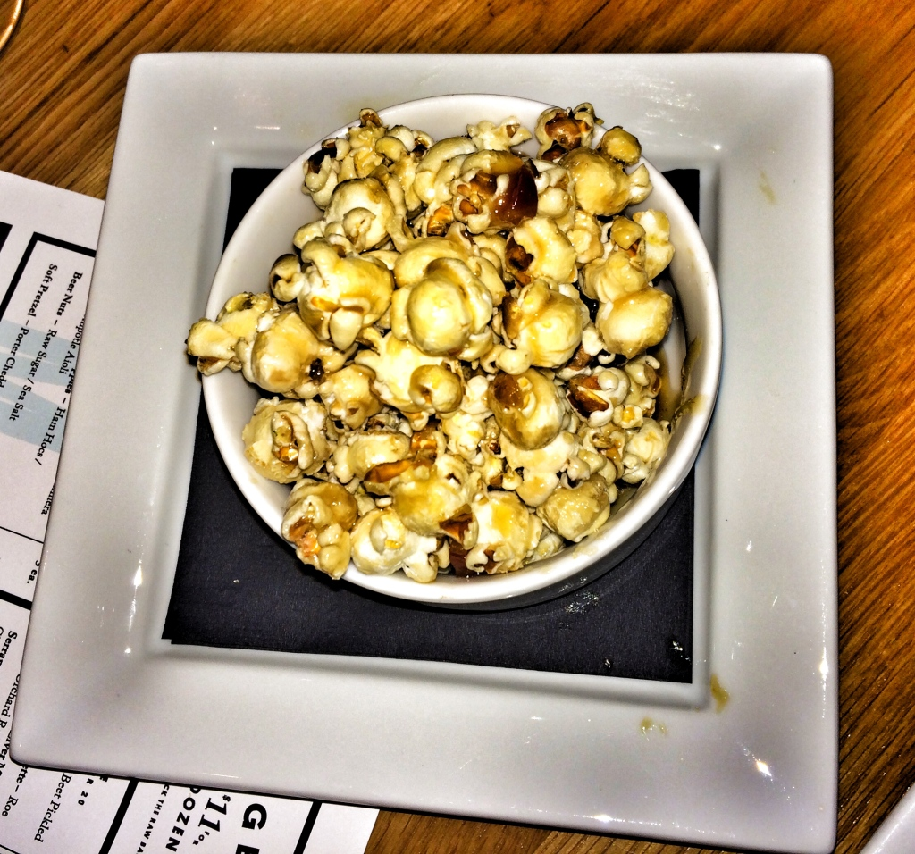 Candied Bacon Popcorn