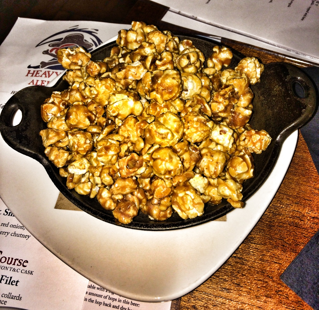 Old Bay Caramel Popcorn