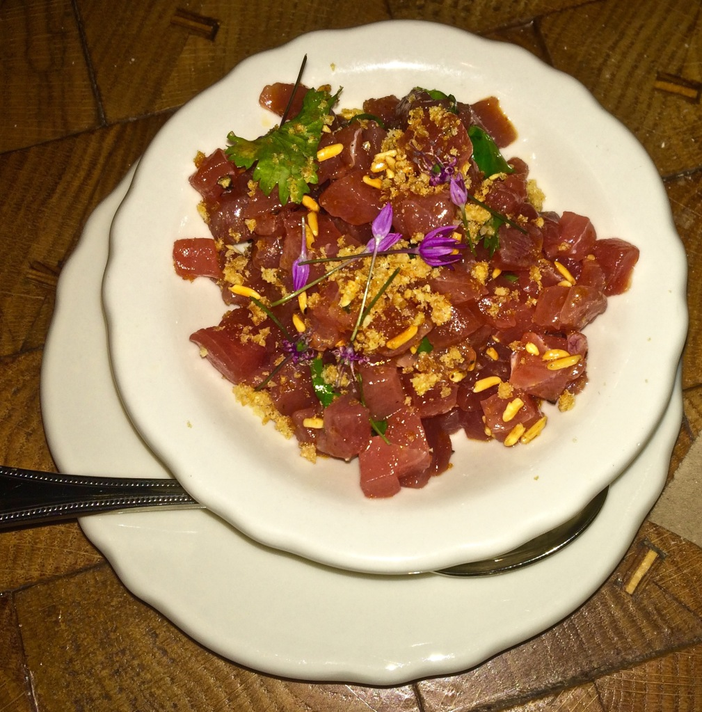 Yellowfin Tuna Tartare