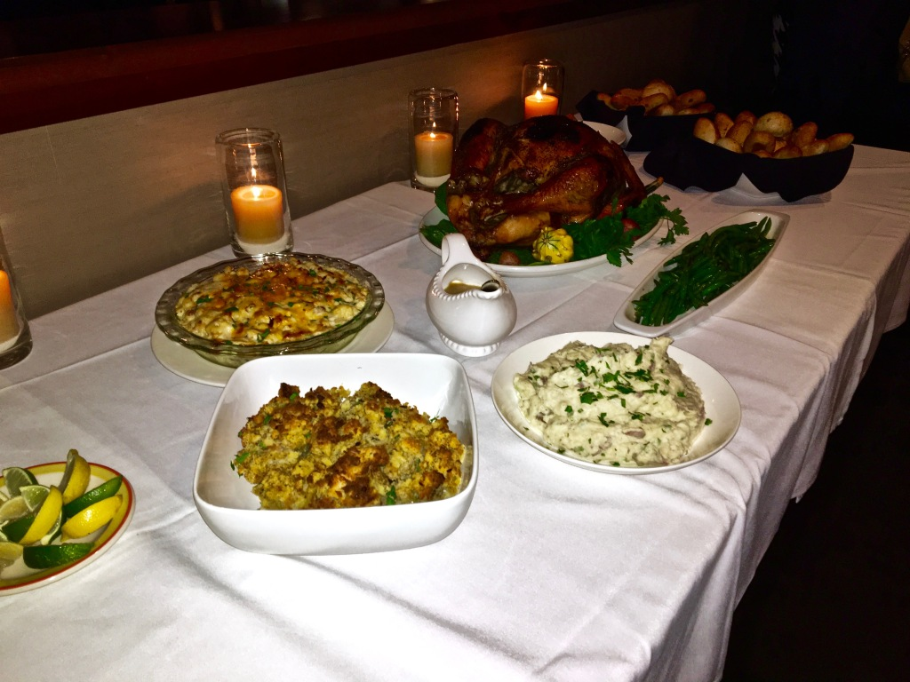 Copper Canyon Grill Home for the Holidays Thanksgiving Feast