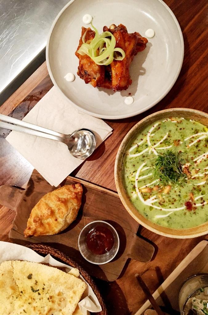 Plates at Alma Cocina Latina