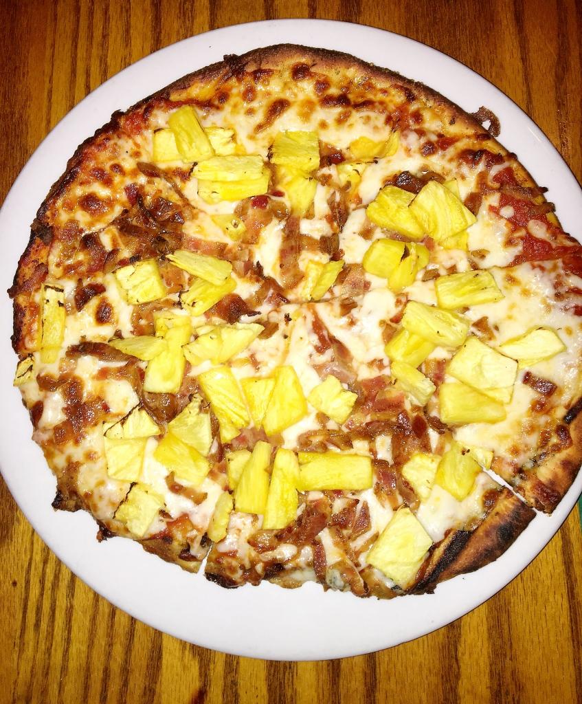 Pineapple Bacon Pizza