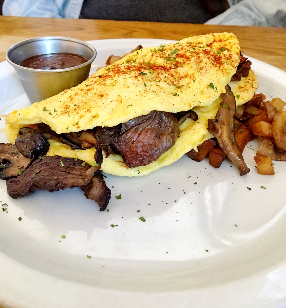 Cheese-steak Omlet