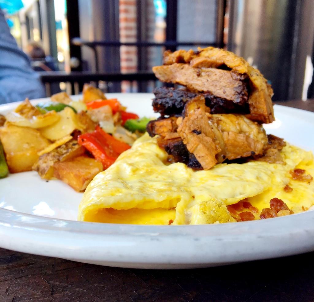Pig n' Cow Omelette