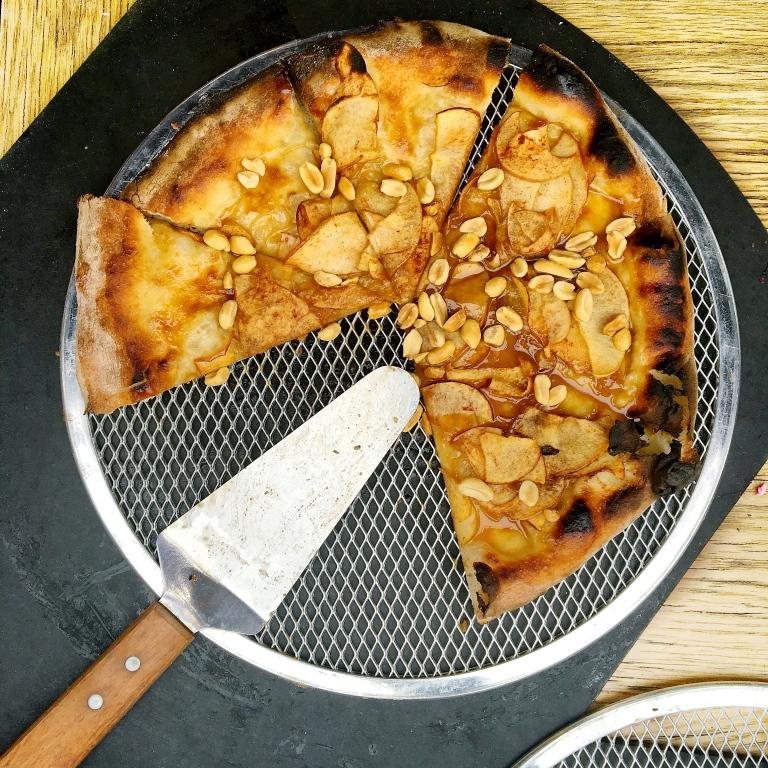 Caramel Apple (Pizza) Pie